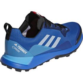 adidas TERREX CMTK GTX Chaussures Homme, blue beauty/grey one/shock cyan